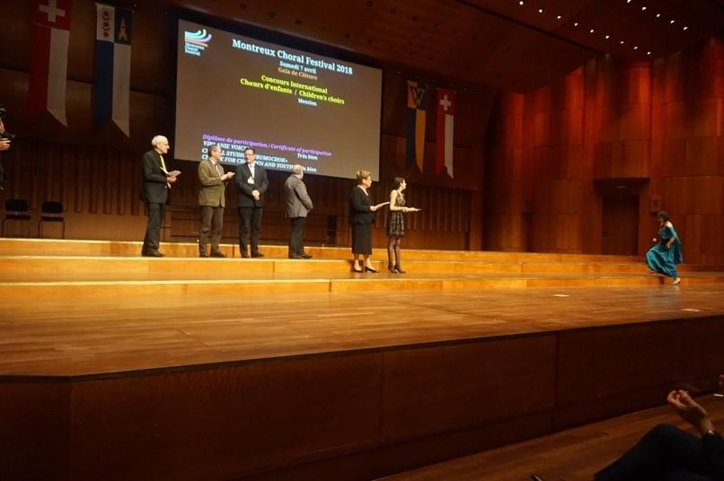 Virlanie Voices Montreux Choral Festival 2018